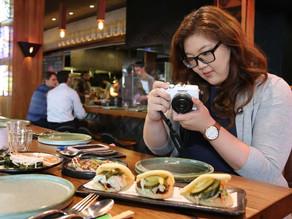Instagram Hashtags on Food Bloggers:-