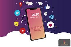 Captions on Phones