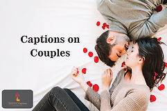 Captions on Couples