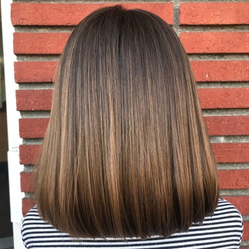 Medium Blunt Haircut