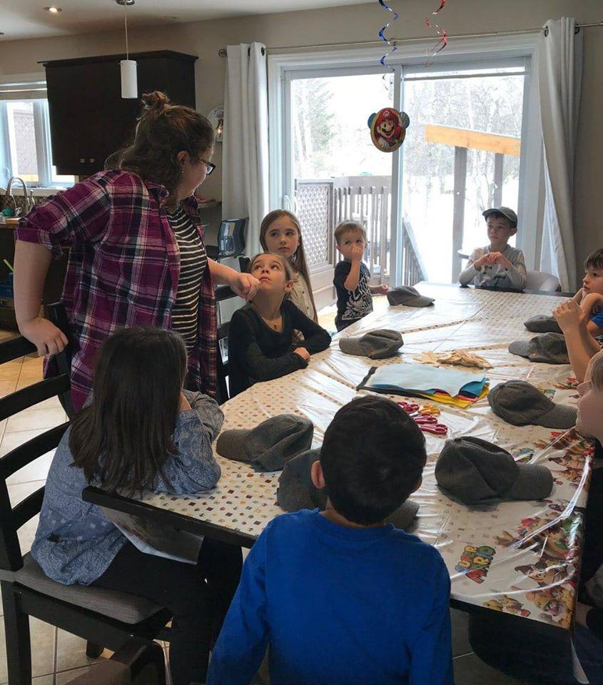 Fête de Justin, 6 ans