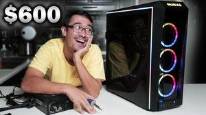 $600 Budget Gaming PC Build - November 2018