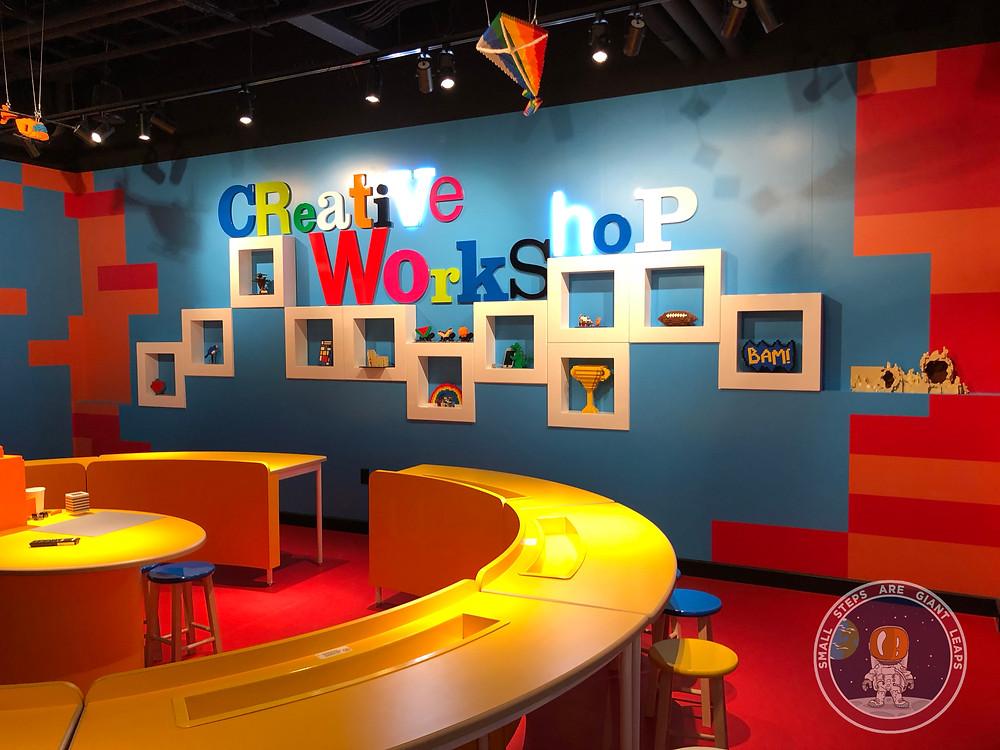 LEGOLAND Discovery Center Columbus Creative Workshop