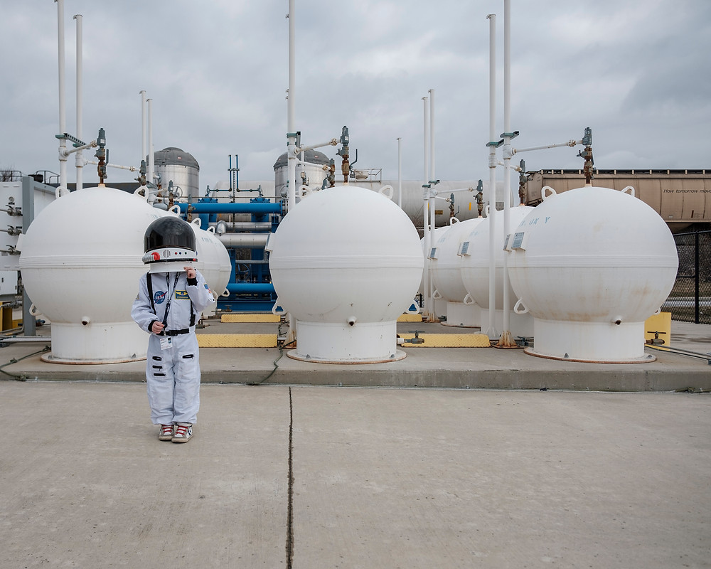 Astronaut Harrison runs on Natural Gas too (copyright SSAGL 2018)