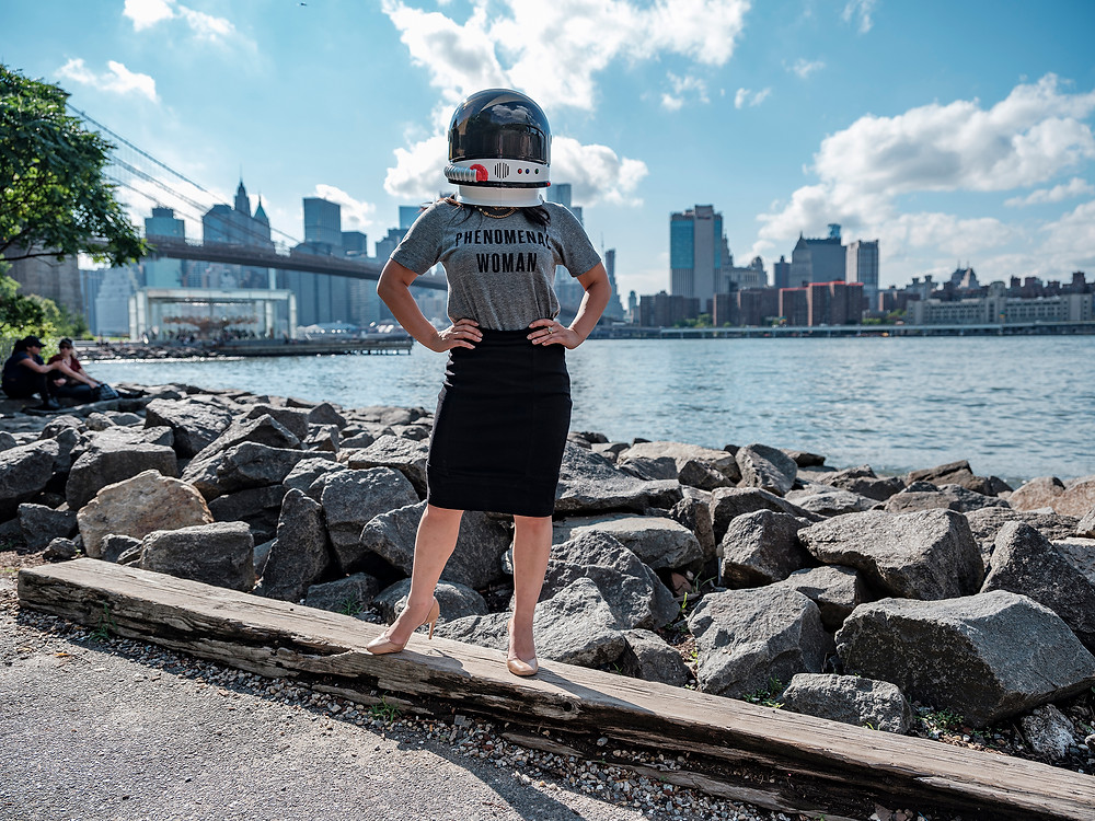 Sharon Yang (@syang) at Brooklyn Bridge Park