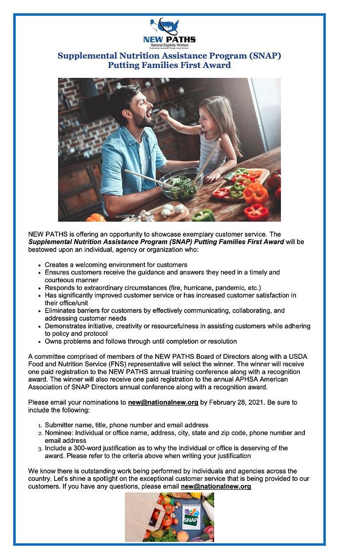 Supplemental Nutrition Assistance Progra