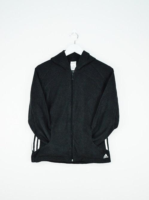 Polaire Adidas Noire à Zip - S