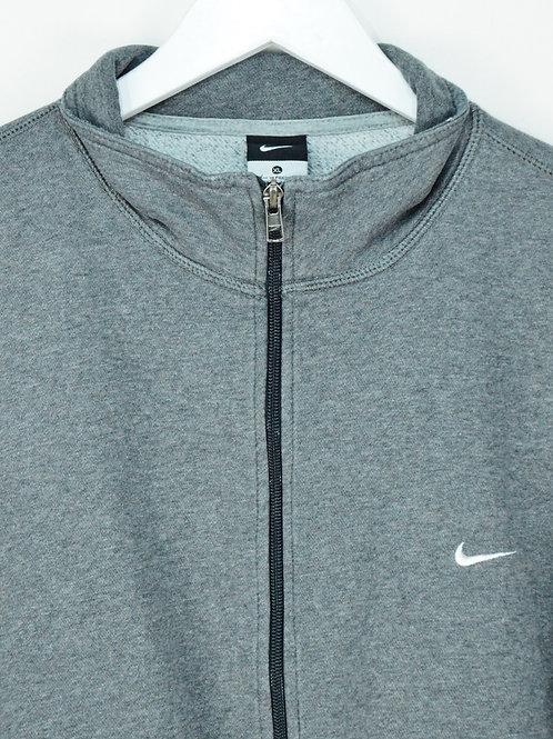Sweat à Zip Nike Oversize Gris Foncé - XL