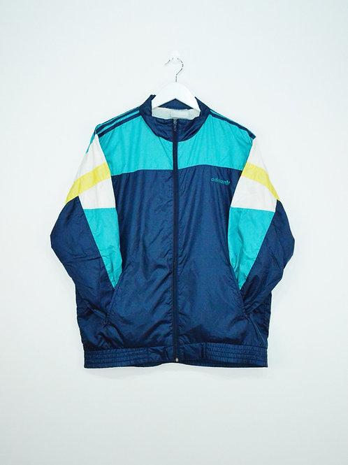 Veste Adidas Vintage 90's Bleue et Jaune - M