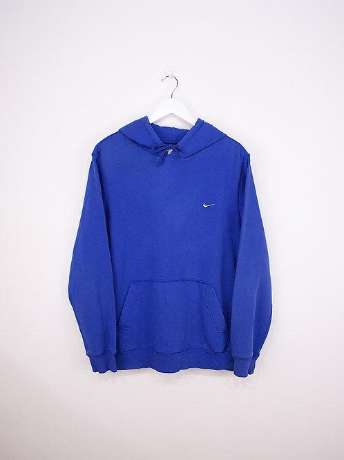 Hoodie Nike Vintage 90's Bleu - L