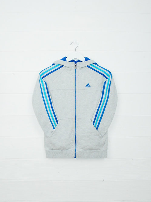 Zip Adidas Hood Stripes - XS