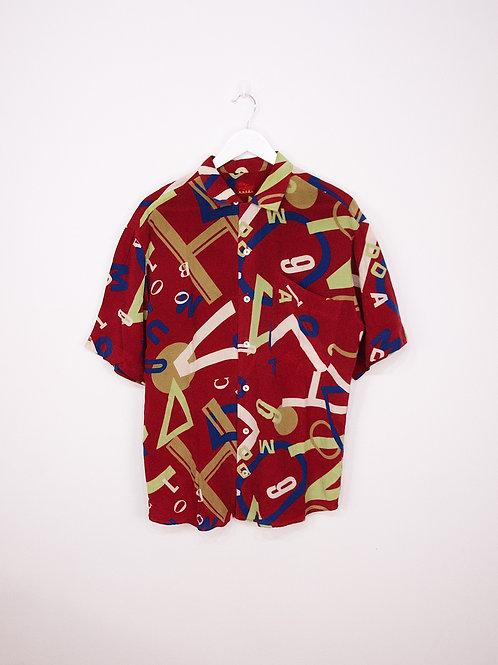 Chemise en Soie Van Laack Royal Vintage 90's à motifs - L