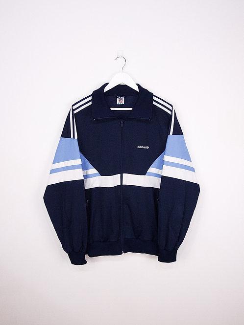 Tracktop Adidas Vintage Oversize 90's Bleu - L