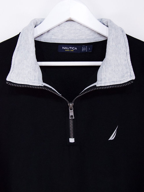 Sweat Nautica 1/4 Zip - L