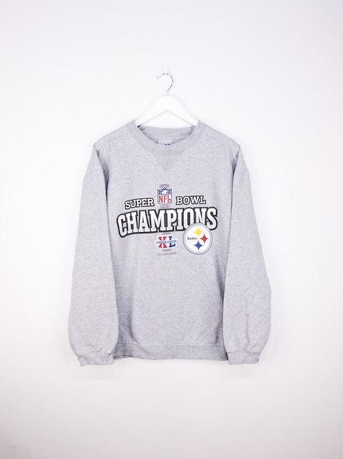 Sweat Vintage Reebok NFL Steelers Super Bowl XL 40th Anniversary - XL