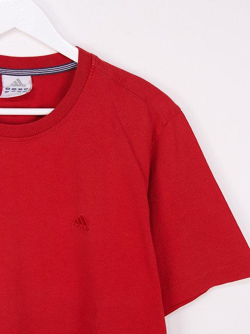T-Shirt Adidas Vintage Brodé Rouge - L