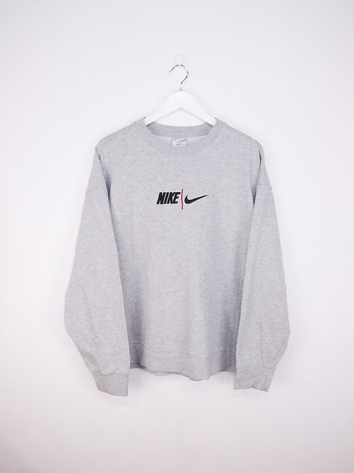 Sweat Nike Oversize Vintage Gris - XL