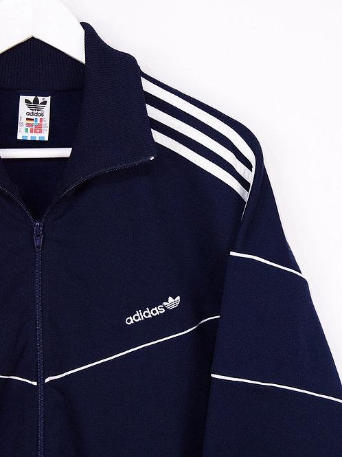 Tracktop Adidas Vintage 90's Bleu Marine - M