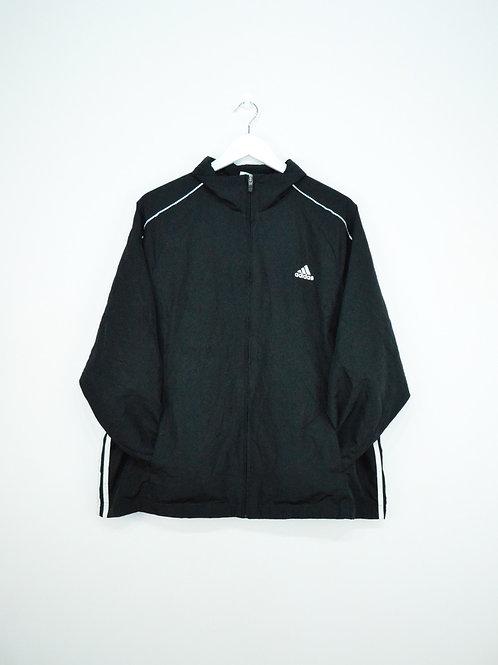 Veste Coupe Vent Adidas Noire Vintage - L