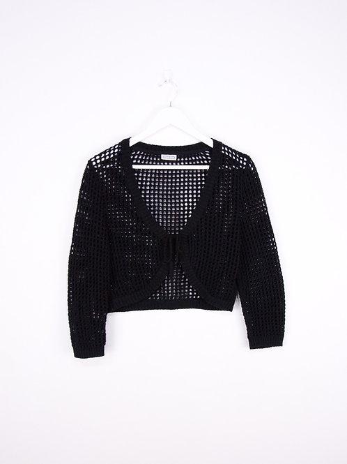 Top Crochet Nouable Y2K Vintage Noir - S/M