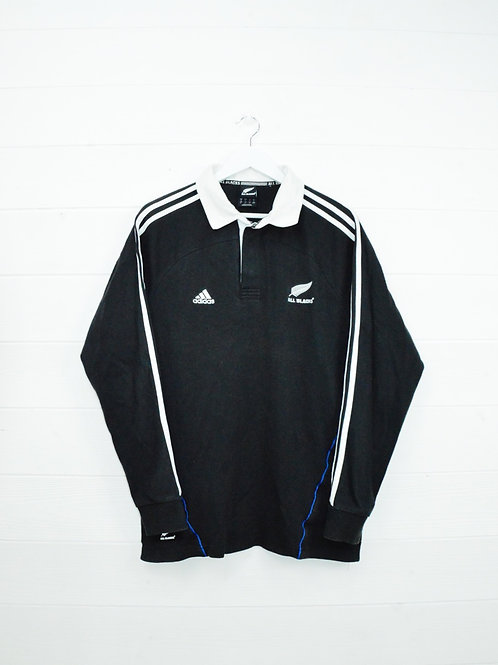 Polo Adidas Rugby All Blacks New Zealand Vintage - M