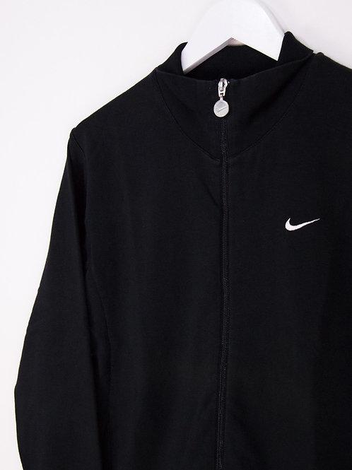 Sweat Nike à Zip Col Montant Sans Capuche Swoosh Brodé - S