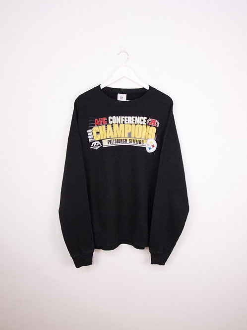 Sweat NFL Pittsburgh Steelers American Football Conference 2008 Champions - XL