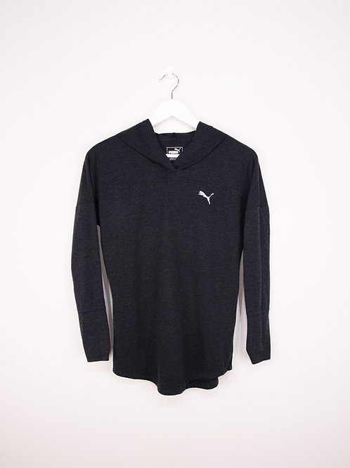 T-Shirt/Pull Fin Puma Manches Longues à Capuche - S/M