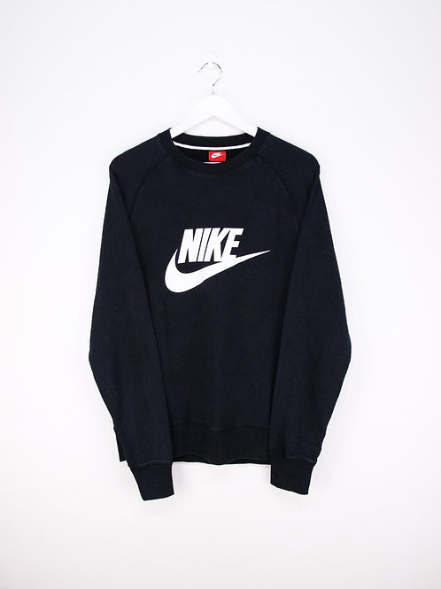 Sweat Nike Col Rond Gros Logo - L