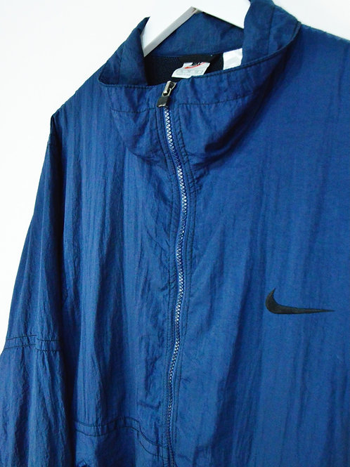 Veste Nike Vintage 80's Bleu Marine - XL