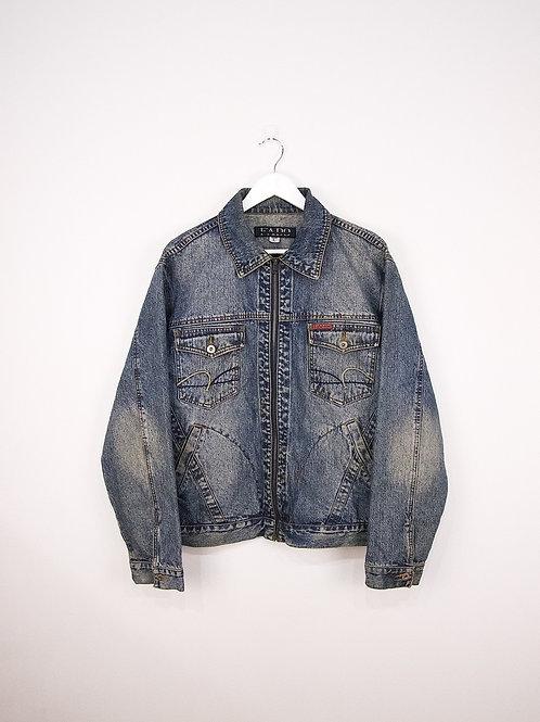 Veste en Jean Vintage à Zip - L