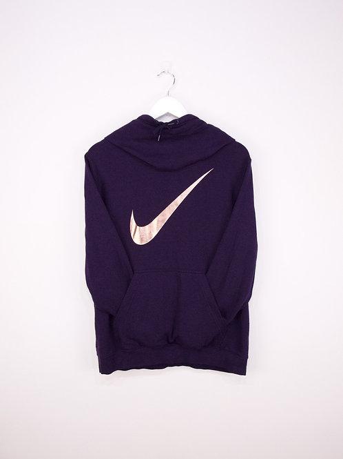 Hoodie Nike Y2K Shiny Swoosh à Col Montant - XL