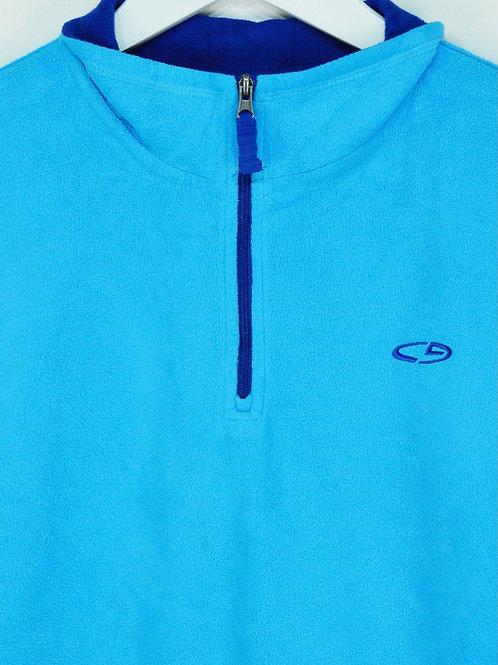 Polaire 1/4 Zip Champion Bleu Clair - M