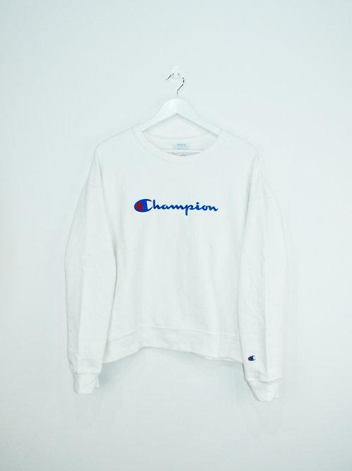 Sweat Champion Blanc Court - M/L