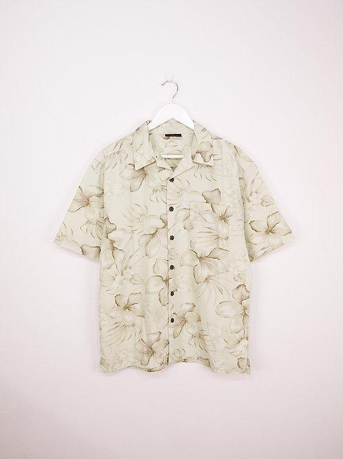 Chemise D'été Vintage à Motifs - M