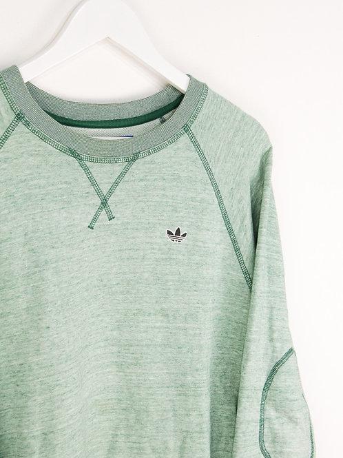 Sweat Adidas Vert Pastel - M