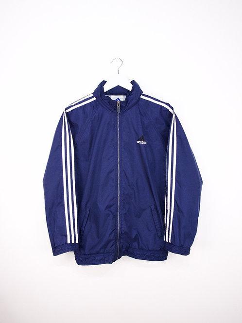 Coupe Vent Adidas Vintage Bleu Marine - M