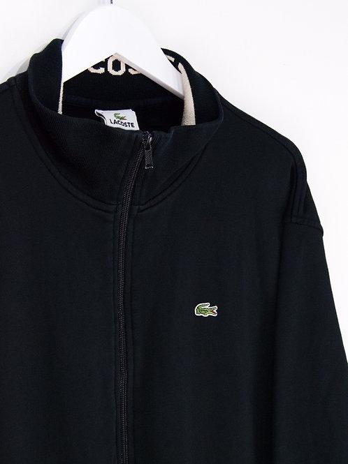 Sweat à Zip Lacoste Oversize Noir - 2XL