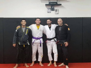 New Purple Belt!
