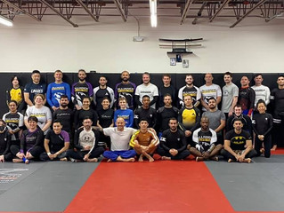 Great seminar with the legend, Jeff Glover