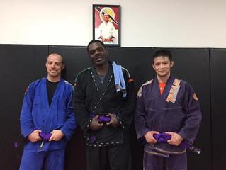 New Foundry Purple Belts!