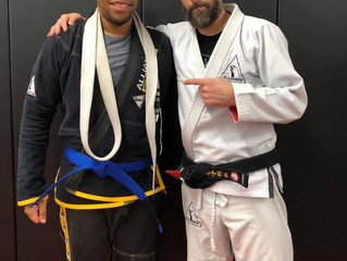 Two new Blue Belts