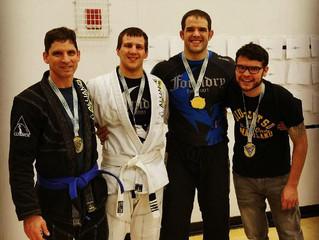 4 competitors.  3 gold.  1 silver.