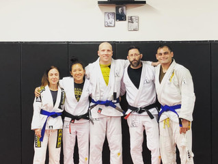 Congrats to our 3 new Blue Belts