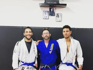 Two new Blue Belts