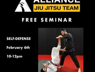 FREE Self Defense Seminar for students