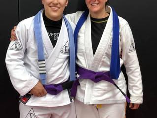 New Purple Belts