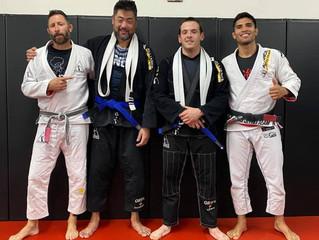 2 New Blue Belts!