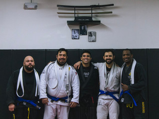 4 New Blue Belts!