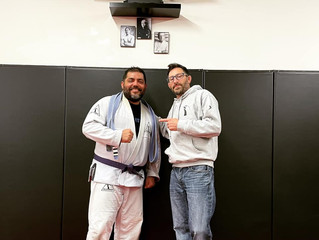 New Purple Belt!